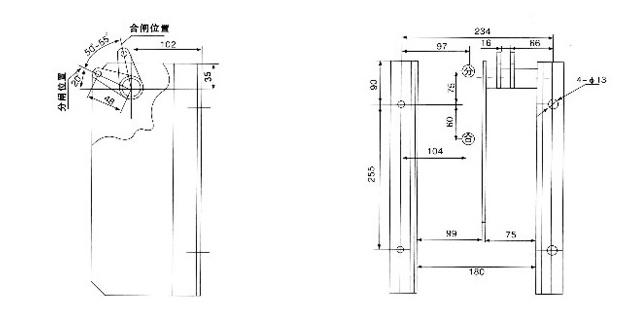 电磁铁 高压电路控制低压